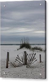 Broken Fences Acrylic Print