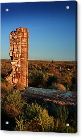Acrylic Print featuring the photograph Broken Glass At Two Guns by Lon Casler Bixby
