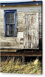 Acrylic Print featuring the photograph Broken Window by Fran Riley