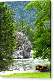 Bromley Rock Acrylic Print by Infinitimage Canada