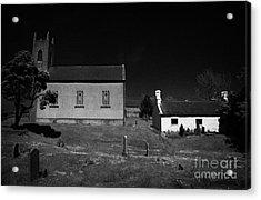 Bronte Homeland Interpretive Centre Drumballyroney Church County Down Ireland Acrylic Print by Joe Fox