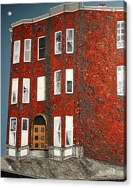 Bronx Building Acrylic Print