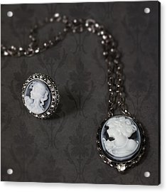 Brooch And Necklace Acrylic Print by Joana Kruse