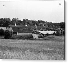 Brook Hill Dairy Farm Acrylic Print by Jan W Faul