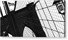 Brooklyn Lines Acrylic Print by Gilles Rousel