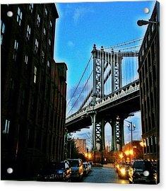#brooklyn #ny #newyork #newyorker Acrylic Print