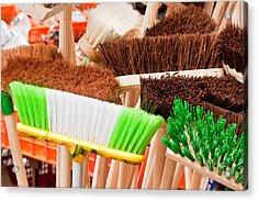 Brooms Acrylic Print