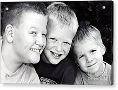 Brothers Three Acrylic Print