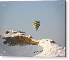 Brrrr Acrylic Print by FeVa  Fotos