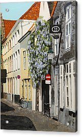 Bruges Wisteria Acrylic Print