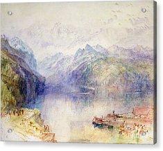 Brunnen  Acrylic Print by Joseph Mallord William Turner