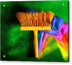 Brush Acrylic Print