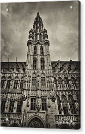 Acrylic Print featuring the photograph Brussels Groot Markt I by Jack Torcello
