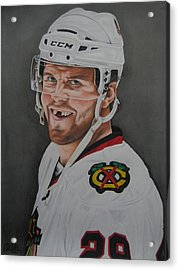 Bryan Bickell Acrylic Print by Brian Schuster