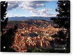 Bryce Canyon Ampitheater Acrylic Print by Butch Lombardi