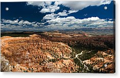 Bryce Canyon Ampitheater Acrylic Print by Larry Carr