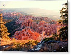 Bryce Canyon At Sunrise Acrylic Print