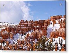 Bryce Canyon Castles Acrylic Print by Viktor Savchenko