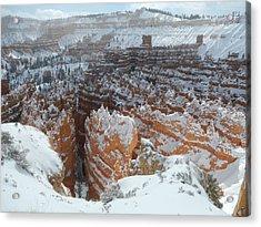 Bryce Canyon Feburary  Acrylic Print