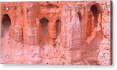 Acrylic Print featuring the photograph Bryce Canyon Grottos by Ann Johndro-Collins