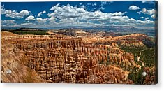 Bryce Canyon Acrylic Print by Larry Carr