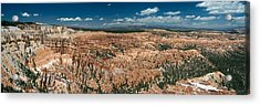 Bryce Canyon Panaramic Acrylic Print by Larry Carr