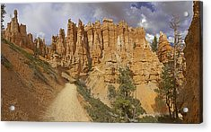 Acrylic Print featuring the photograph Bryce Canyon Trail by Gregory Scott