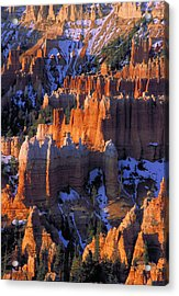 Bryce Sunrise Acrylic Print