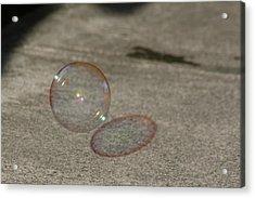 Bubble Shadow Acrylic Print