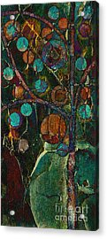 Bubble Tree - Spc01ct04 - Left Acrylic Print by Variance Collections