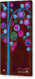 Bubble Tree - W02d Acrylic Print by Variance Collections