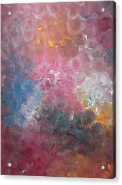 Bubblewrap Acrylic Print by Sharon Tuff