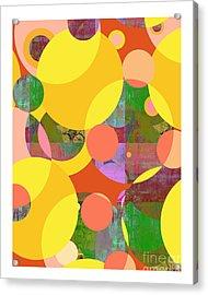 Bubblicious Iv Acrylic Print by Ricki Mountain