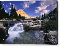 Bubbs Creek Acrylic Print by Buck Forester