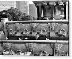 Buckingham Fountain - 5 Acrylic Print by Ely Arsha