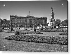 Buckingham Palace London Acrylic Print by David French