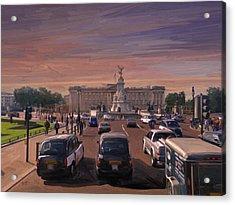 Buckingham Palace Acrylic Print by Nop Briex