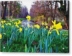 Bucks County Spring Acrylic Print by Bill Cannon