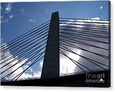 Bucksport Bridge Acrylic Print by Ursula Lawrence