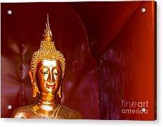 Buddha Bliss Acrylic Print