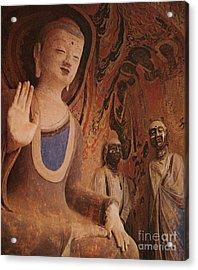 Buddha, China Acrylic Print by Photo Researchers