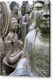 Acrylic Print featuring the photograph Buddha City by Brian Sereda