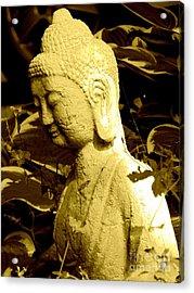 Buddha  Acrylic Print by France Laliberte