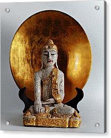 Buddha Girl Acrylic Print
