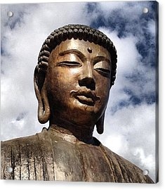 Buddha In The Sky Acrylic Print