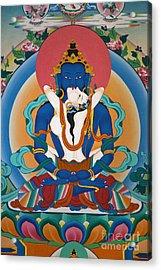 Buddha In Yabyum - Nepal Acrylic Print