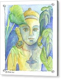 Buddha Acrylic Print by Karin Zukowski