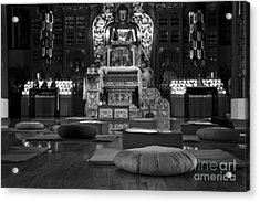 Buddhist Temple Woodstock Acrylic Print by Design Remix