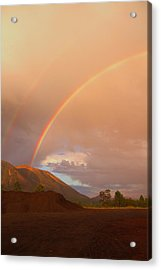 Acrylic Print featuring the photograph Buffalo Rainbow by Tom Kelly
