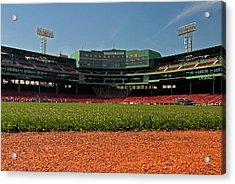 Bugs Eye View From Center Field Acrylic Print by Paul Mangold